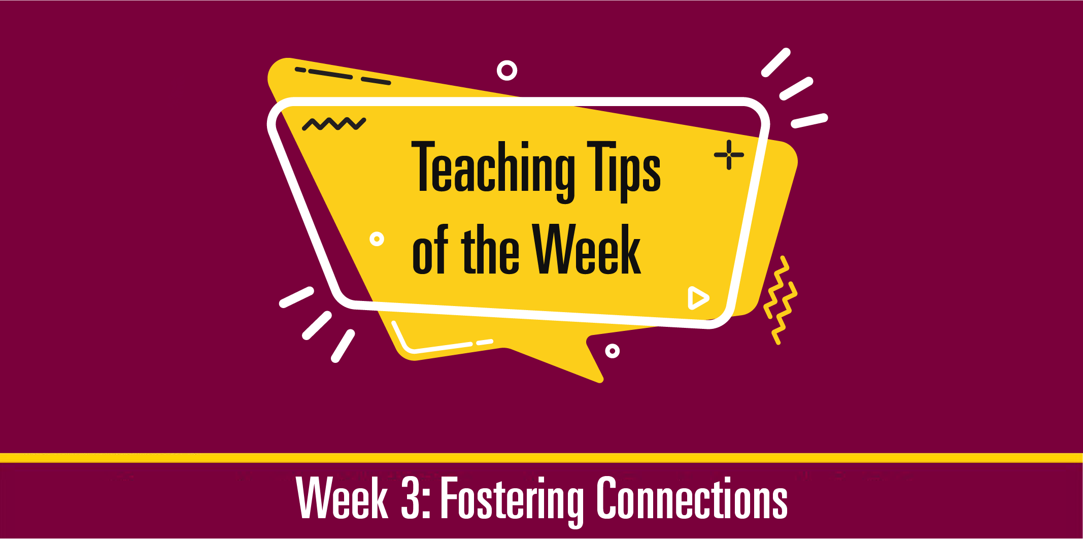 Teaching Tips 3