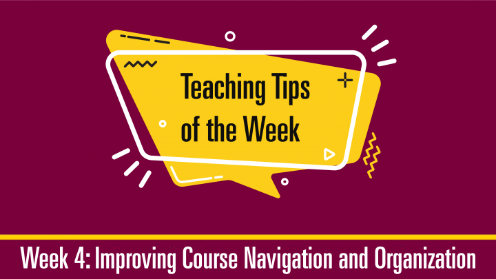 Teaching Tips 4