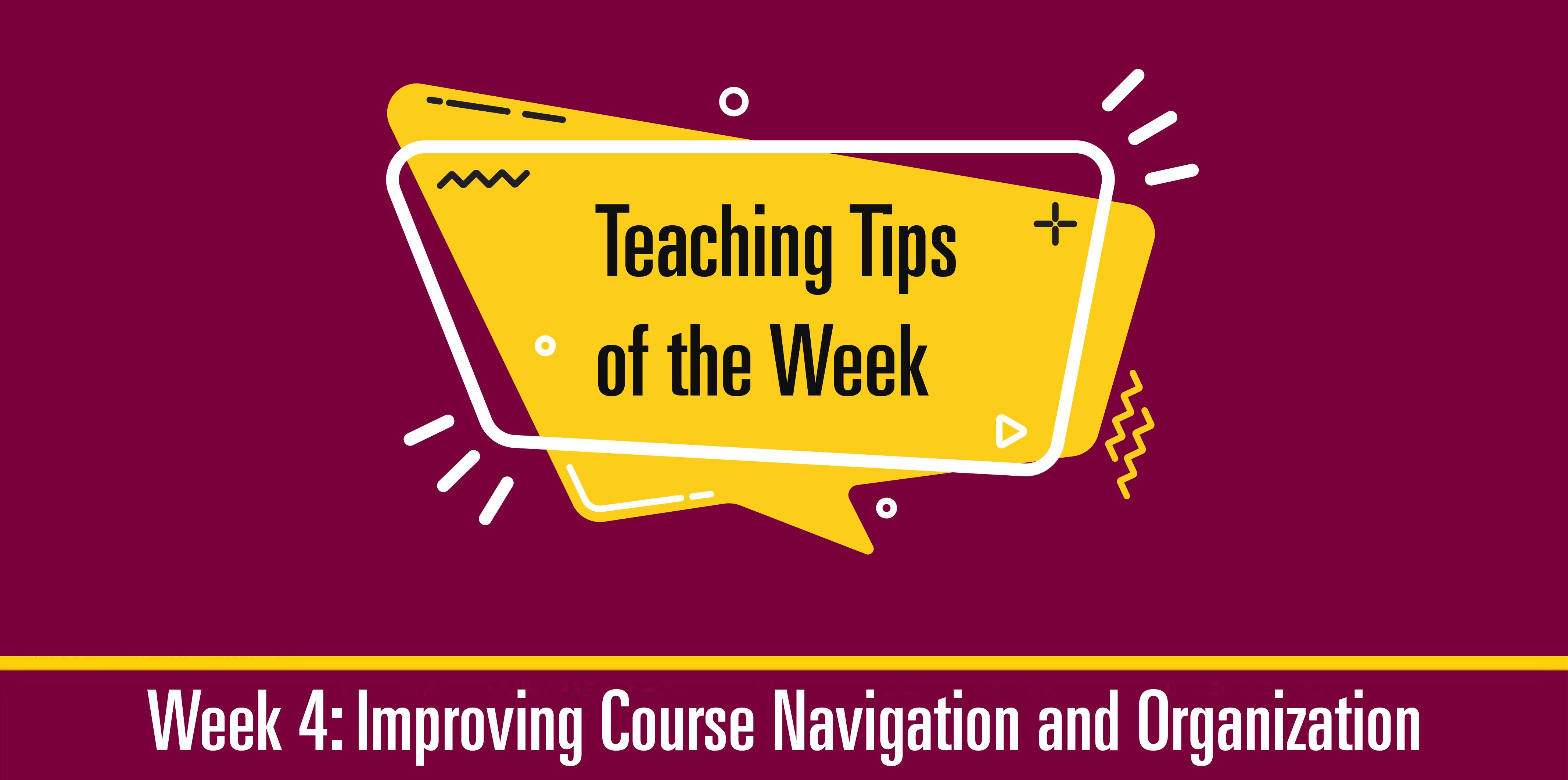 Teaching Tips 4