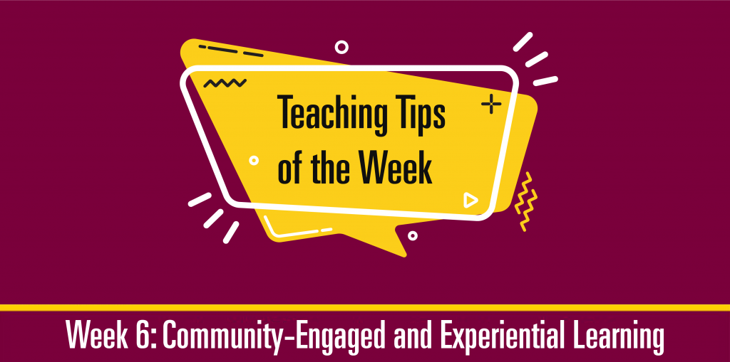 Teaching Tip of the Week Graphic