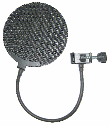 A commercial pop filter
