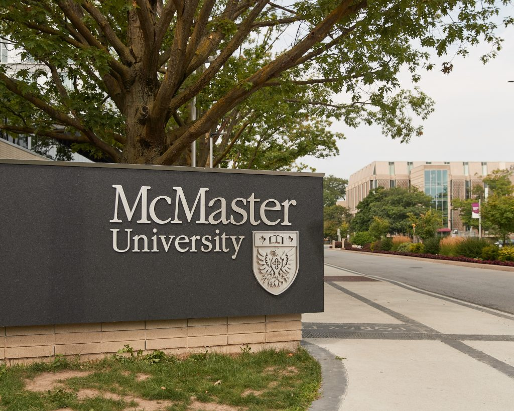 McMaster Sign