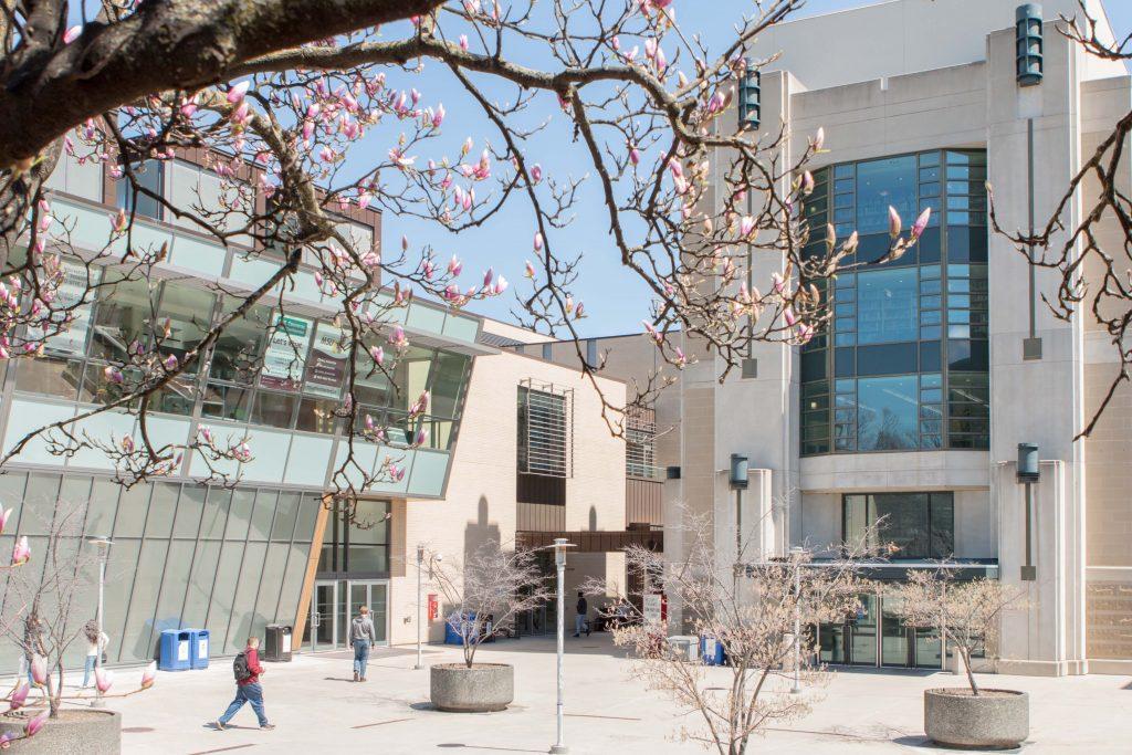 McMaster Student Center Quad